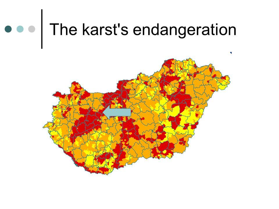 The karst's endangeration