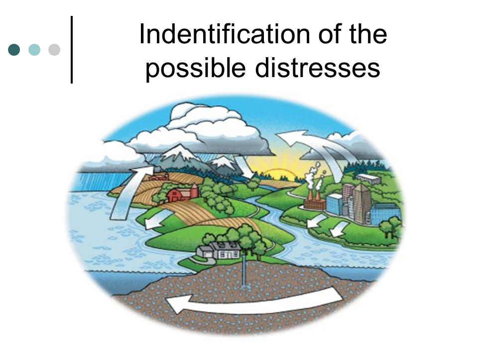 Indentification of the possible distresses