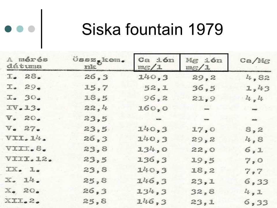 Siska fountain 1979