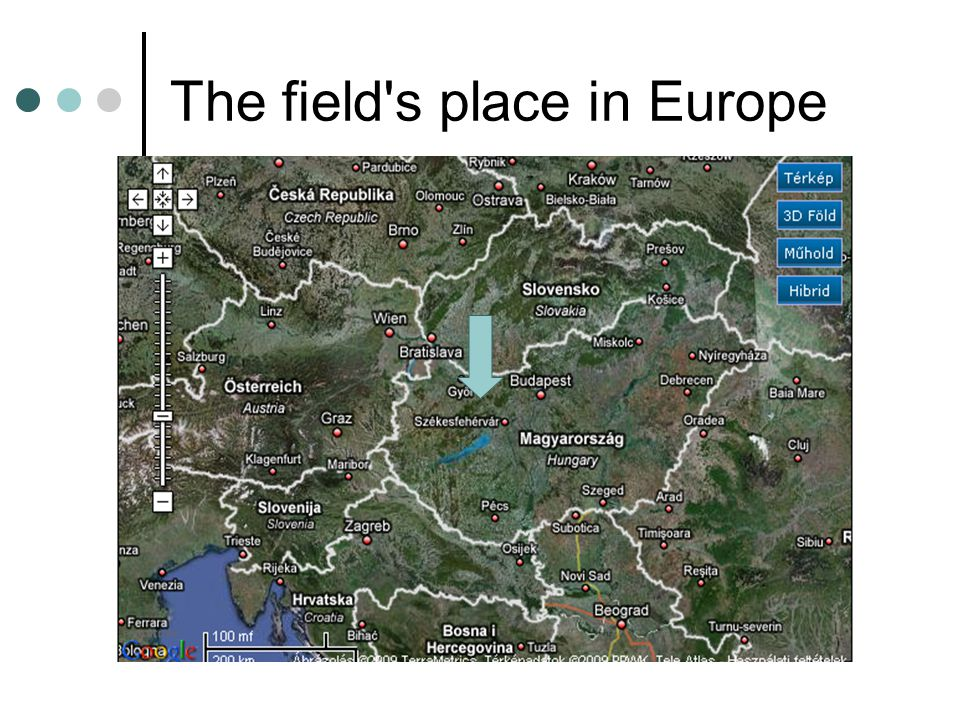 The field s place in Europe