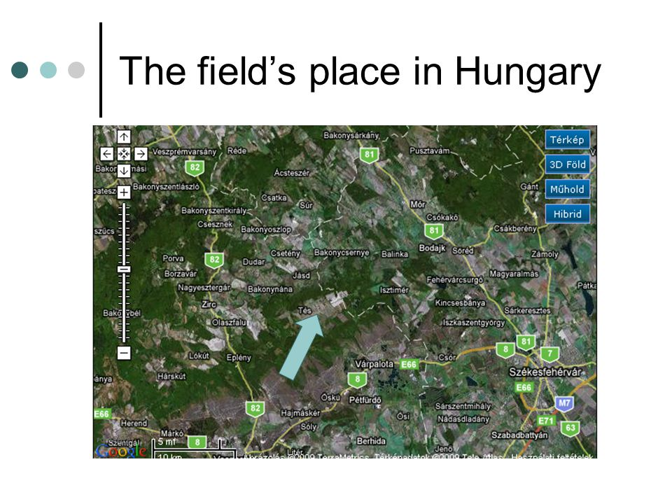 The field's place in Hungary