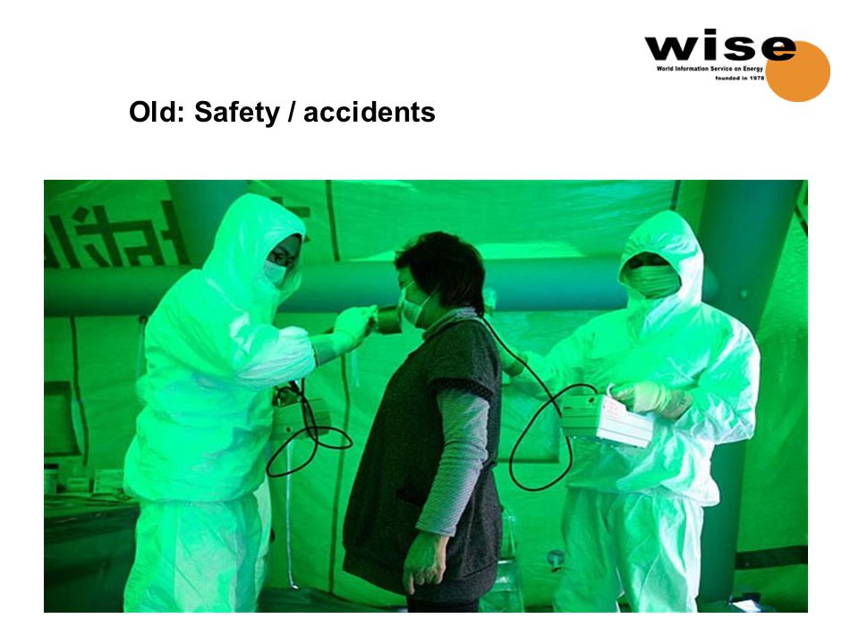 Old: Safety / accidents