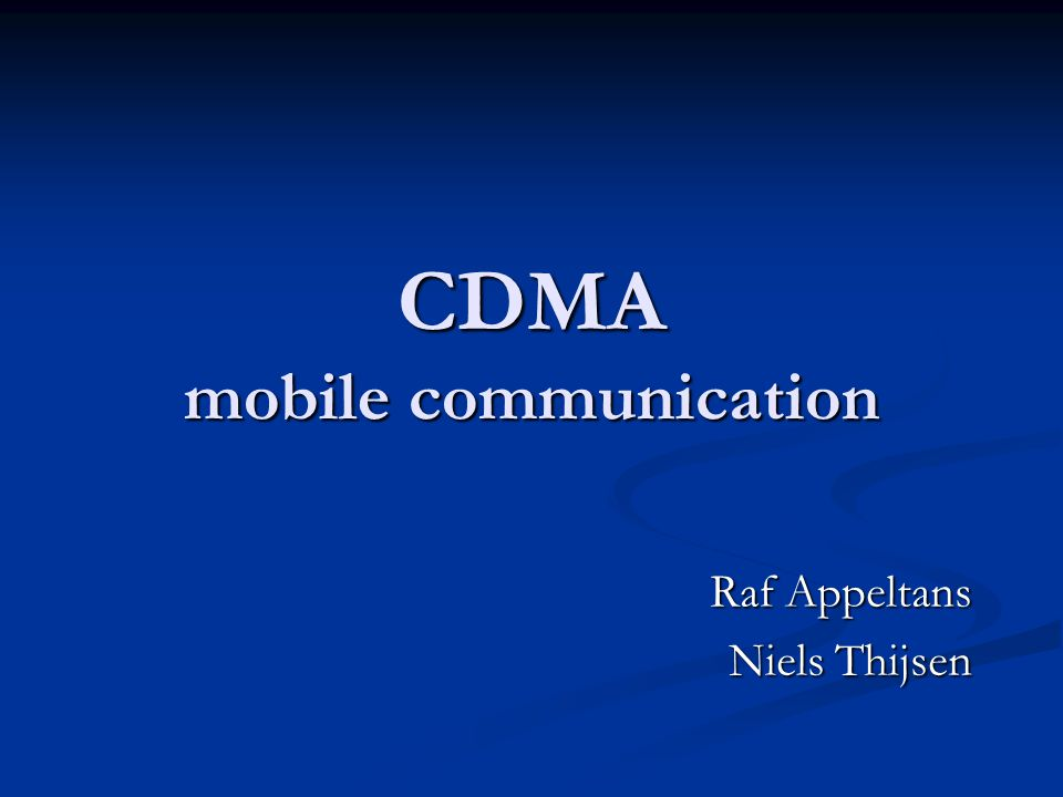 Simulaties DS-CDMA – AWGN + Multipath