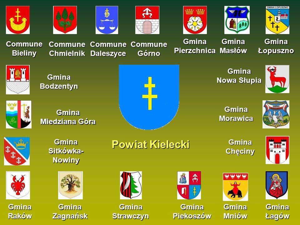 Commune Bieliny Gmina Bodzentyn Gmina Chęciny Gmina Masłów Gmina Łopuszno Gmina Łagów Powiat Kielecki Commune Daleszyce Commune Chmielnik Commune Górn