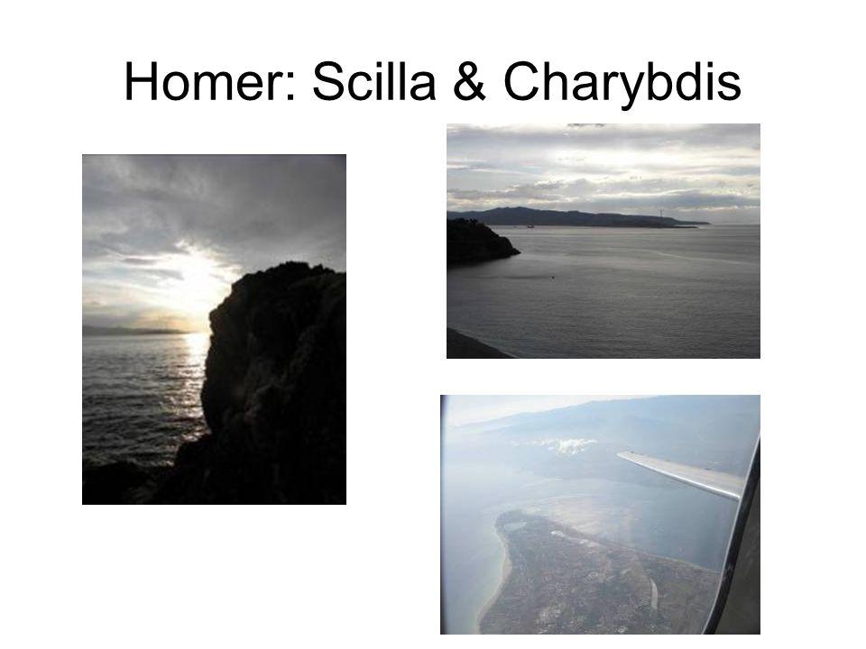 Homer: Scilla & Charybdis