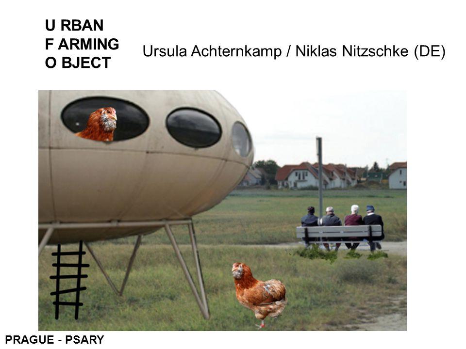 U RBAN F ARMING O BJECT Ursula Achternkamp / Niklas Nitzschke (DE)