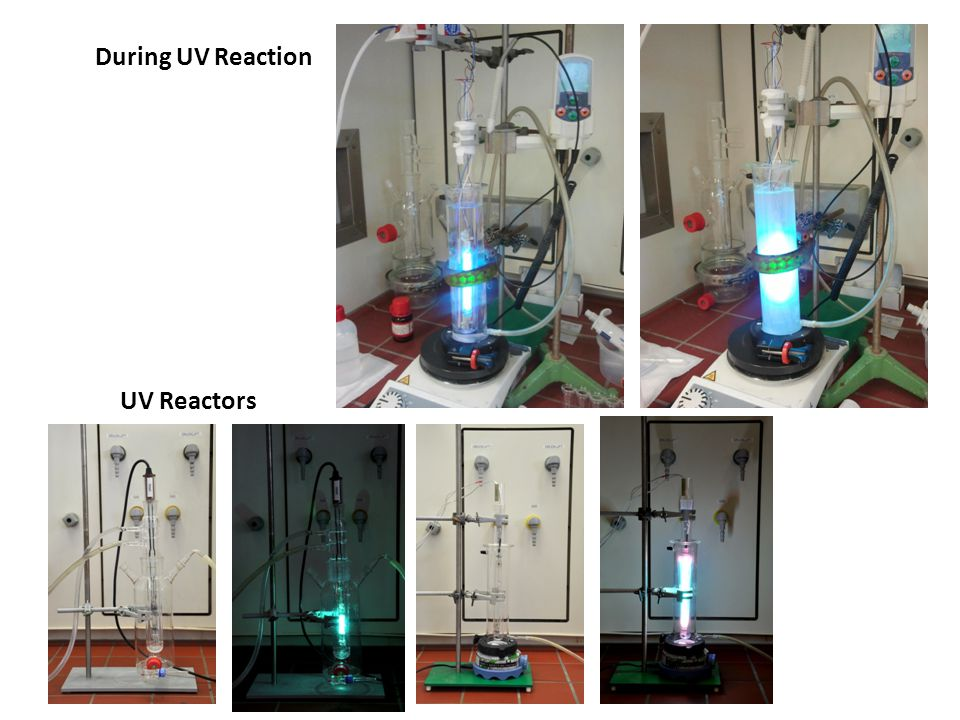 UV Reactors During UV Reaction
