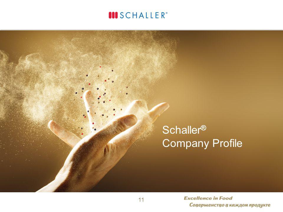 Separator / Hand Schaller ® Company Profile 11