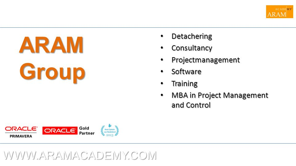 WWW.ARAMACADEMY.COM AdvancedIntegration