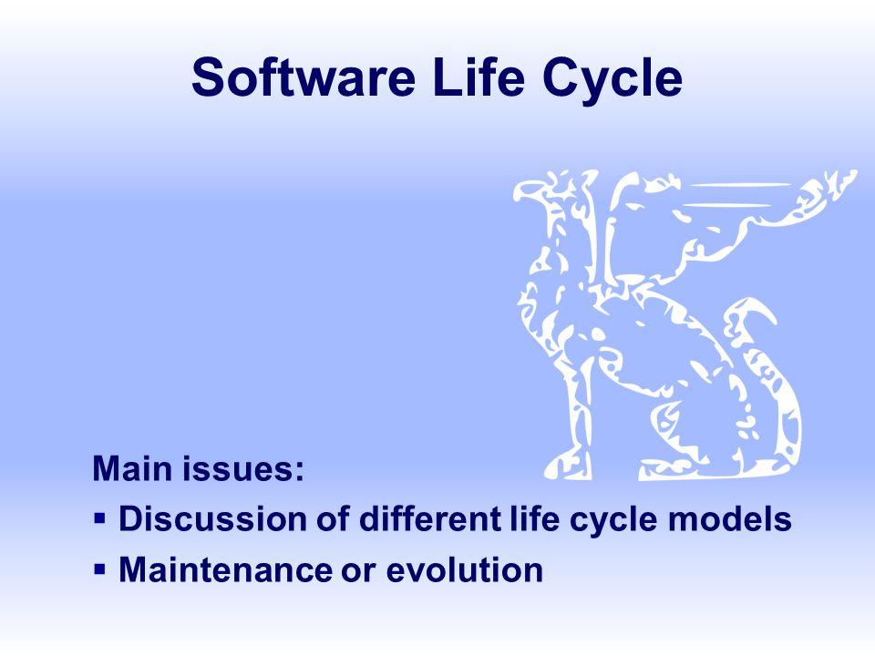 SE, Software Lifecycle, Hans van Vliet, ©2008 12 Lightweight (agile) approaches  prototyping  incremental development  RAD, DSDM  XP