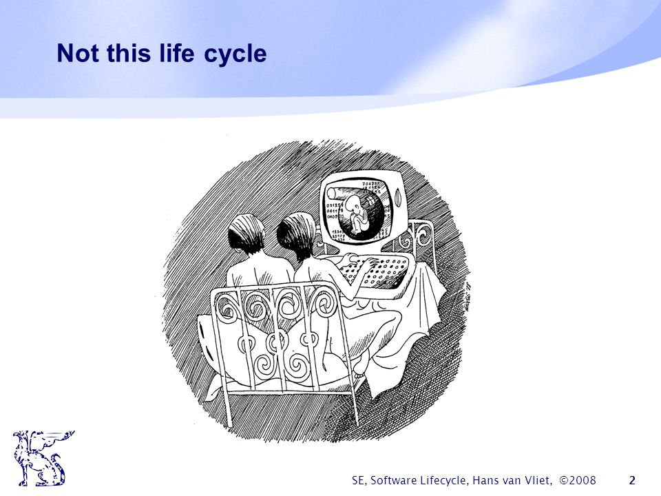 SE, Software Lifecycle, Hans van Vliet, ©2008 23 DSDM  Dynamic Systems Development Method, #1 RAD framework in UK  Fundamental idea: fix time and resources (timebox), adjust functionality accordingly  One needs to be a member of the DSDM consortium
