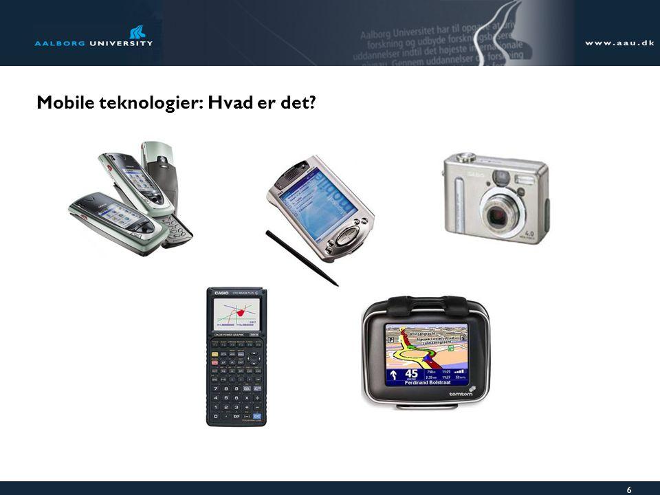 6 Mobile teknologier: Hvad er det
