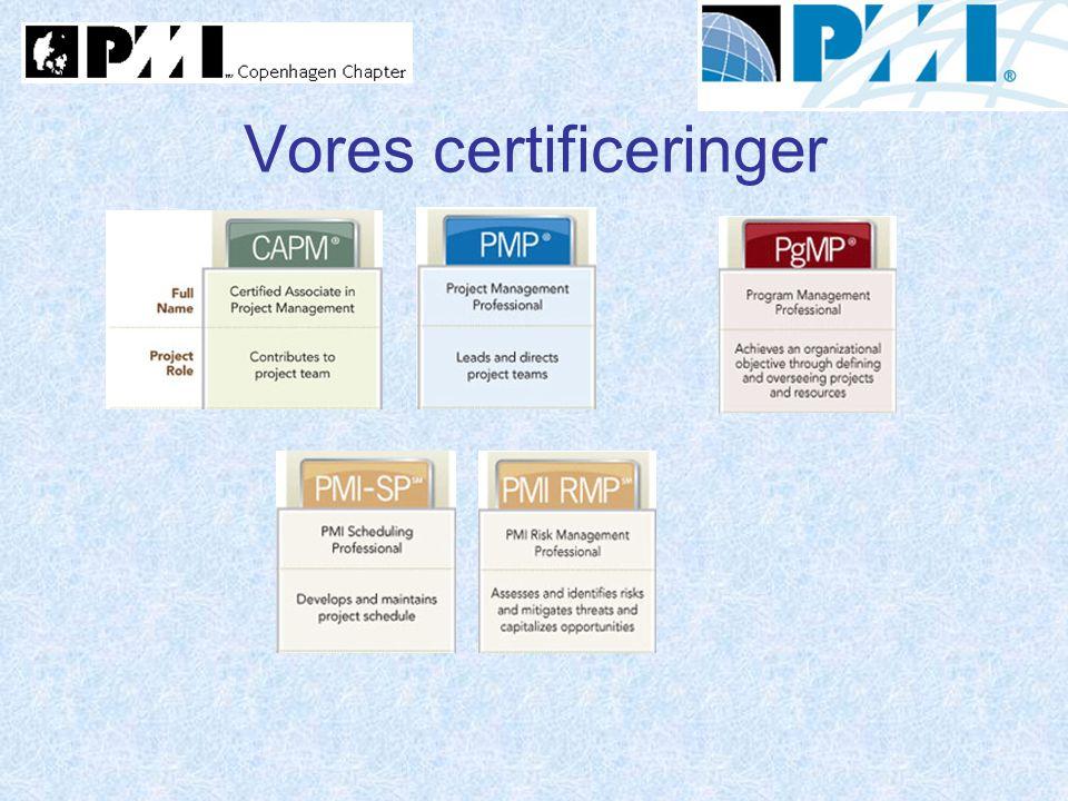 Vores certificeringer