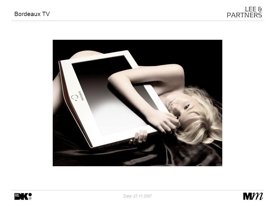 Date: 27.11.2007 Bordeaux TV