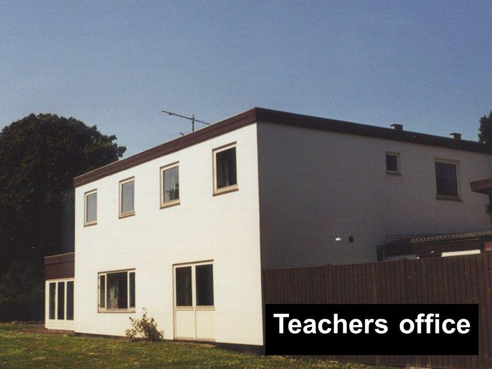 Grupperum Teachers office