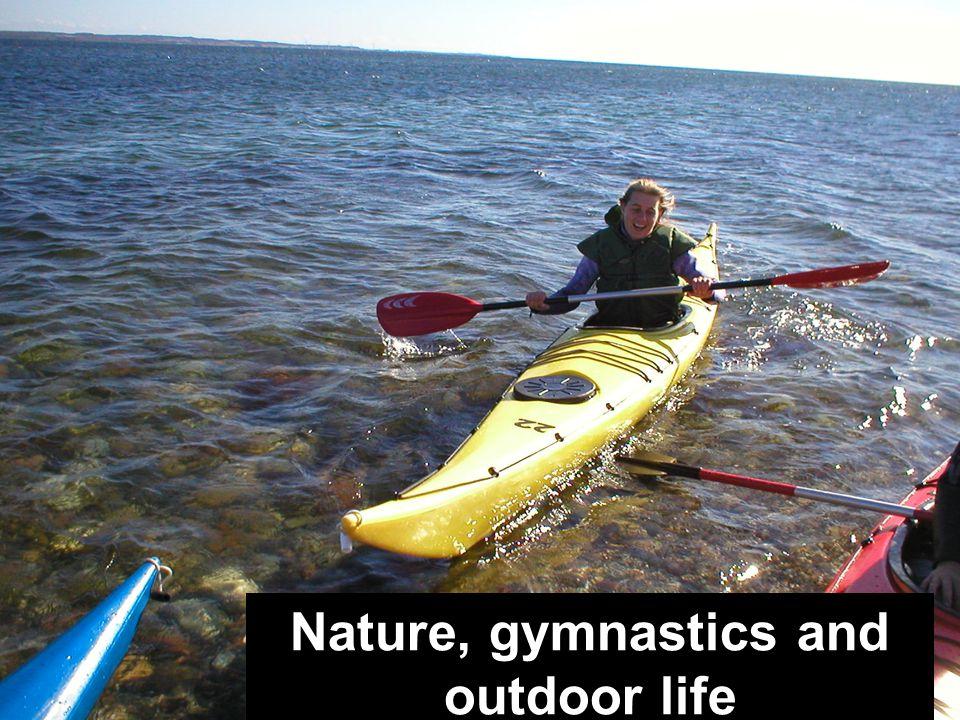 GrupperumLærerkontorMusik Nature, gymnastics and outdoor life