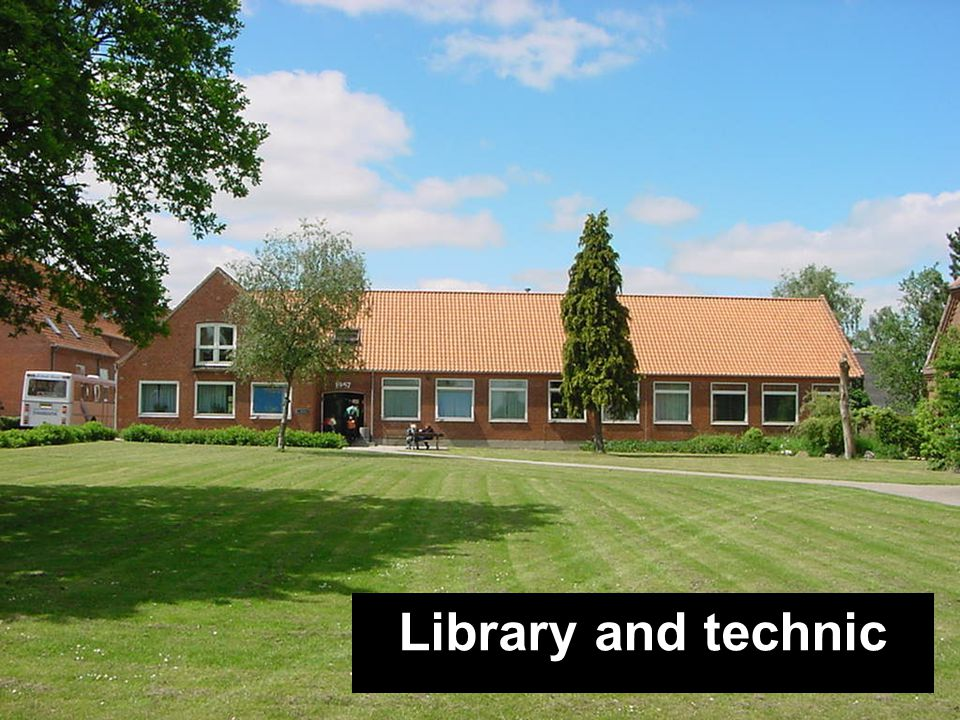 Kantine Bygning A Festsal Bygning B Festsal Bygning B DramaHF-bygning Library and technic