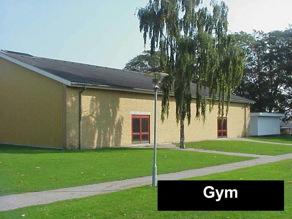 Kantine Bygning A Festsal Bygning B Festsal Bygning B DramaHF-bygning Gym