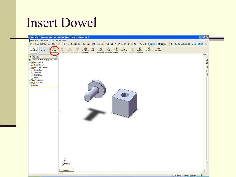 Insert Dowel