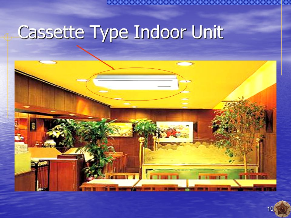 10 Cassette Type Indoor Unit