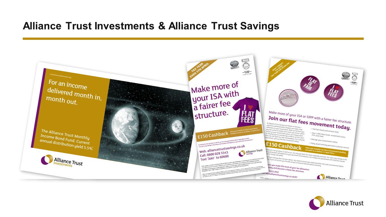 Alliance Trust Investments & Alliance Trust Savings