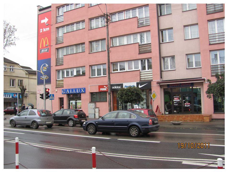 Main street in Garwolin