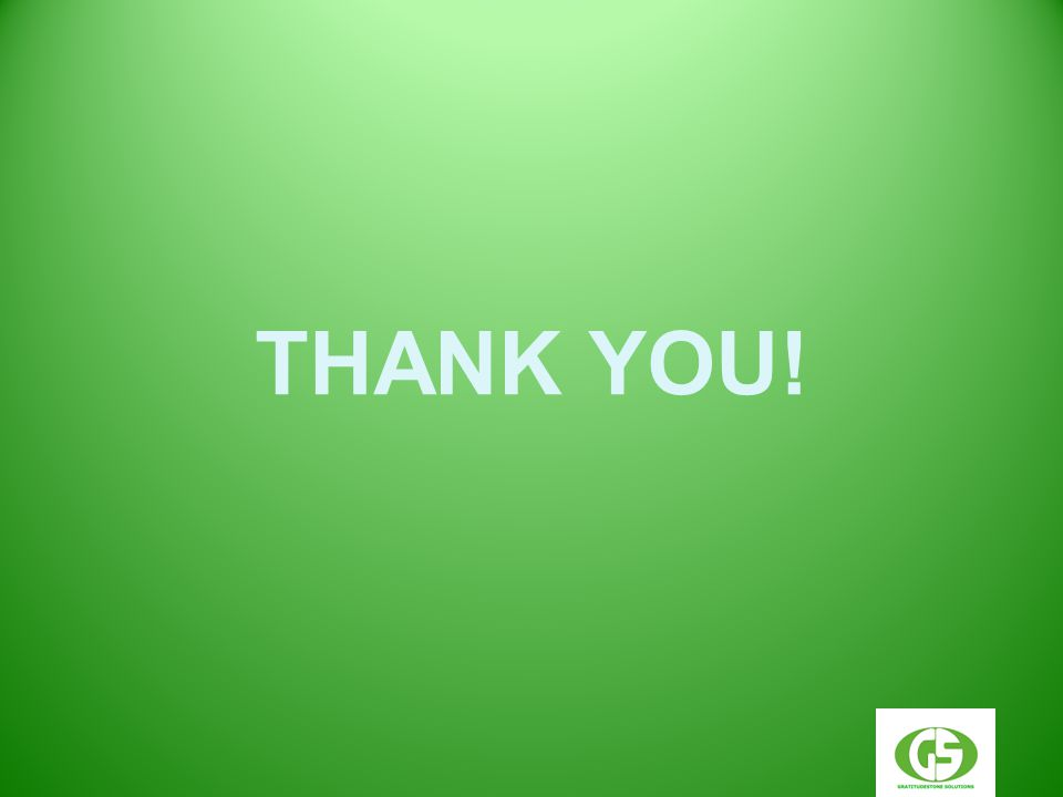 THANK YOU! Your Logo