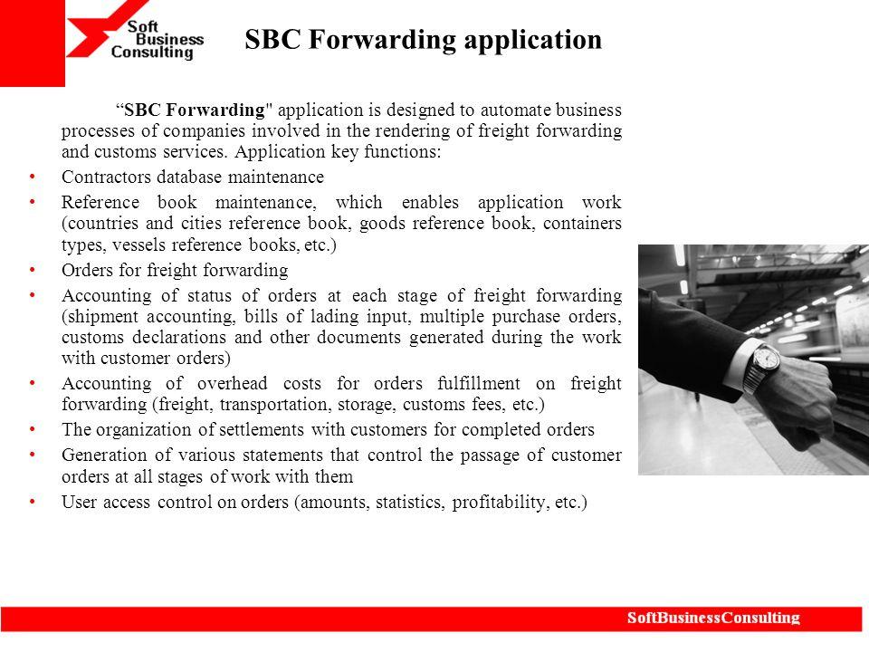 """SBC Forwarding application """"SBC Forwarding"""