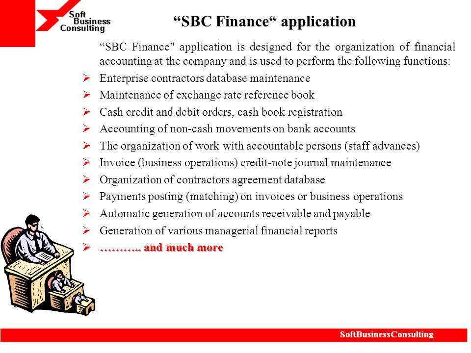 """SBC Finance"
