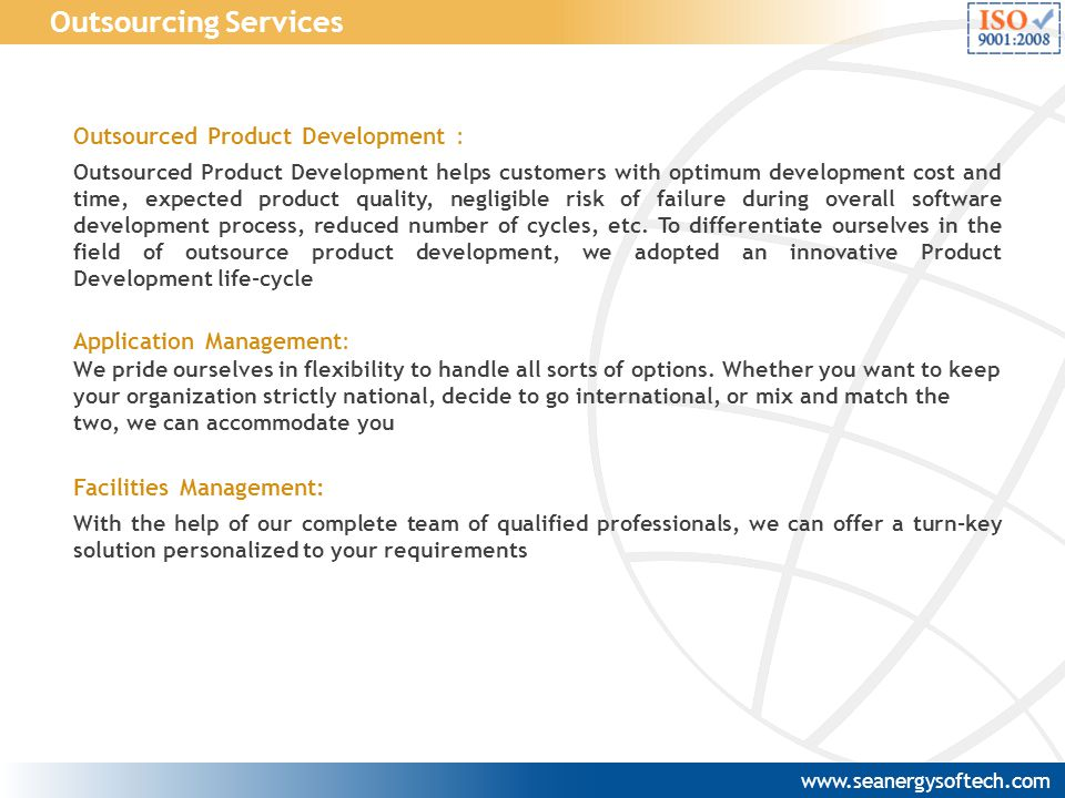 Outsourced Product Development : Outsourced Product Development helps customers with optimum development cost and time, expected product quality, negl