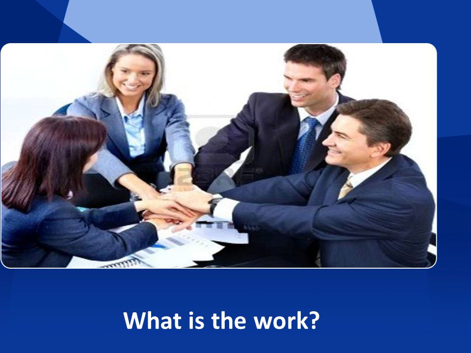 What is the work?