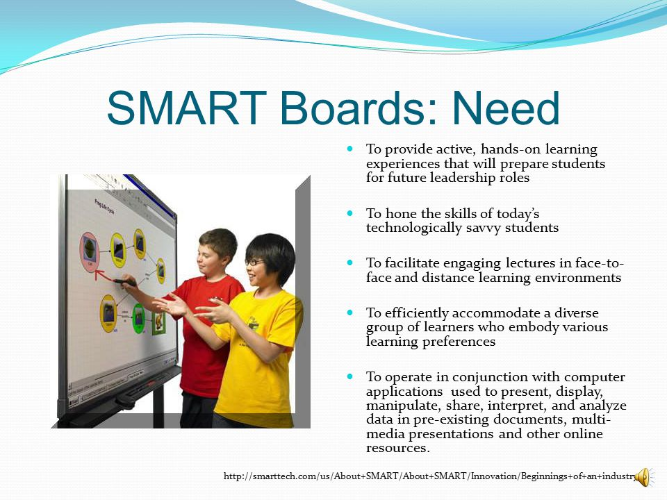 SMART Boards: The Role of the Champion : Presenting….Mike Spisieck, Director of Technology Stamp of Approval Power Charismatic Expert or either has access to an expert Effective Respected