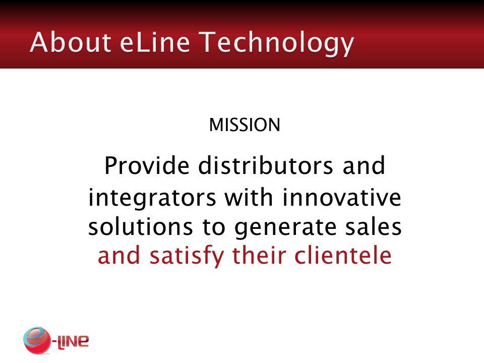 eLine is a U.S.based company.
