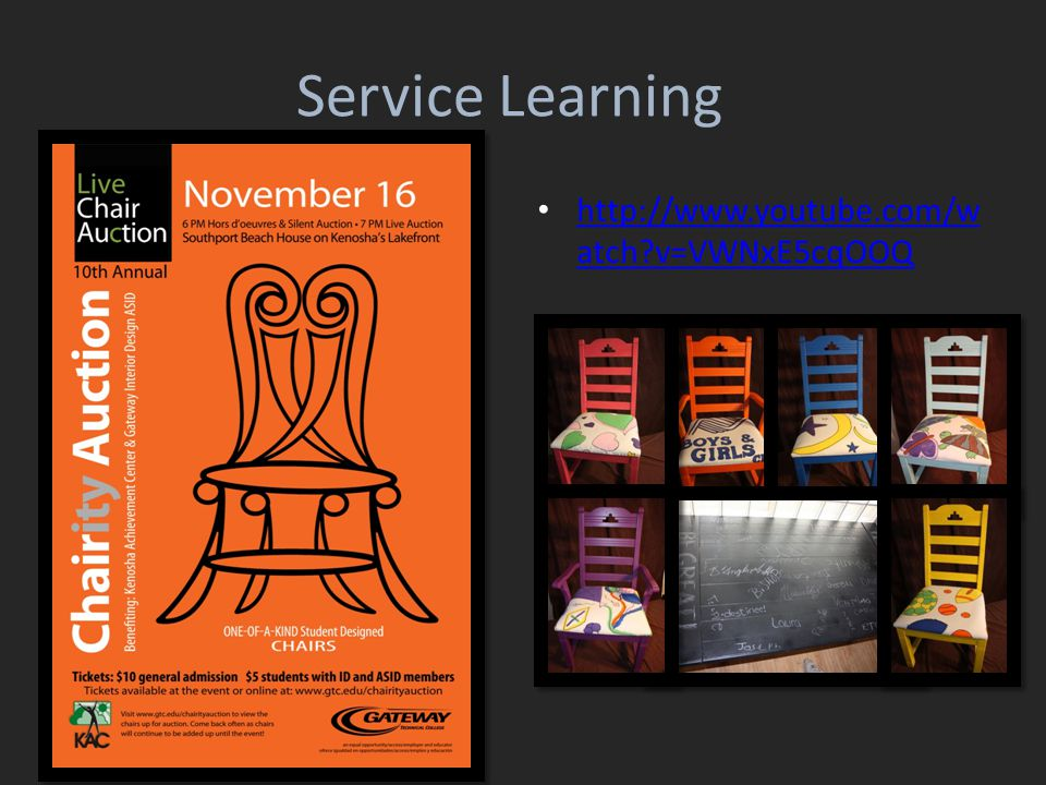 Service Learning http://www.youtube.com/w atch?v=VWNxE5cqOOQ http://www.youtube.com/w atch?v=VWNxE5cqOOQ