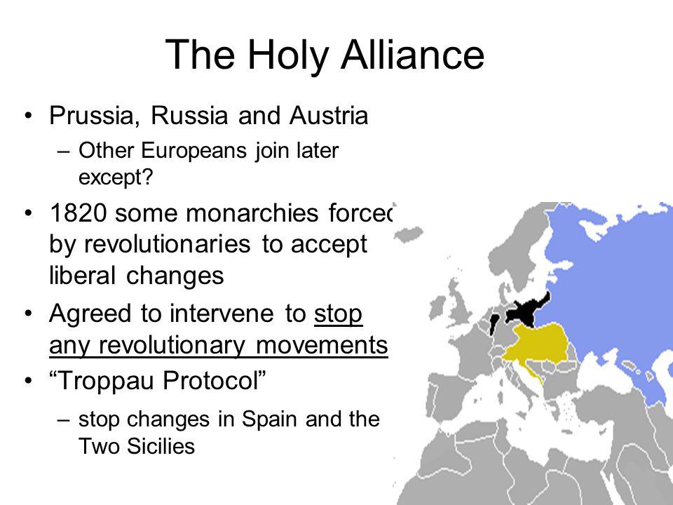German Confederation Formed out of C.o. V.