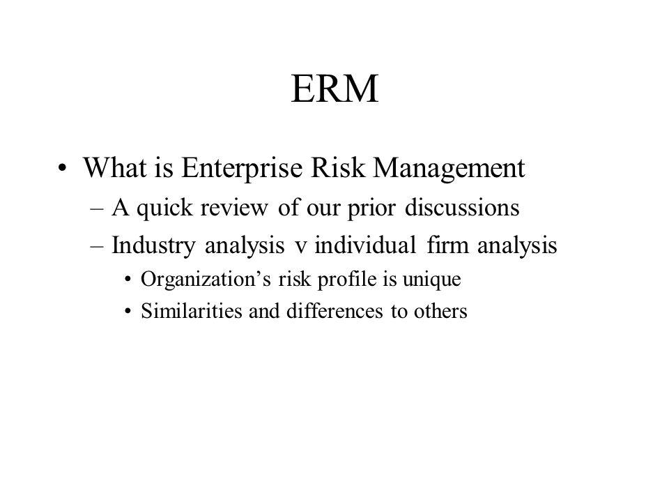 ERM Line management and risk management alignment –Key challenges Conflict resolution Role of line risk management Incentive alignment Non-financial risk management