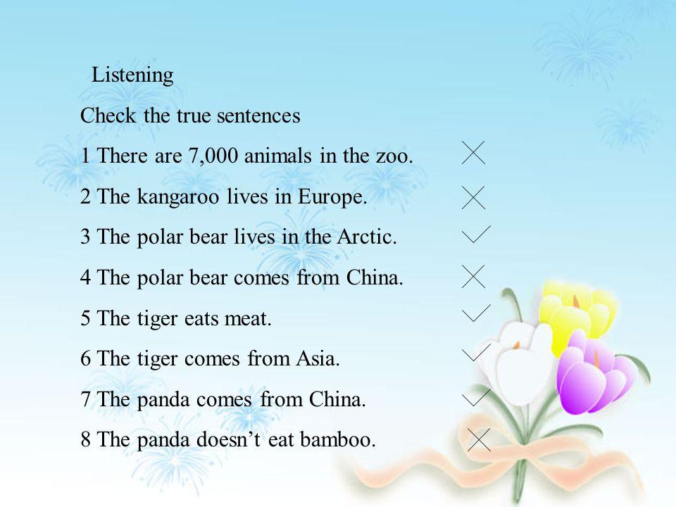 panda, China The panda lives in China. Does the panda live in China.