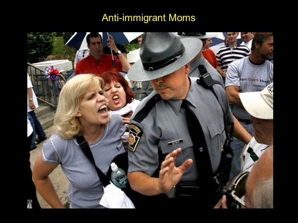 Anti-immigrant teens