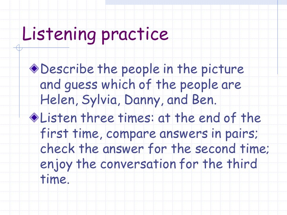 Group work Discuss the following questions: Who is your best friend in our class.