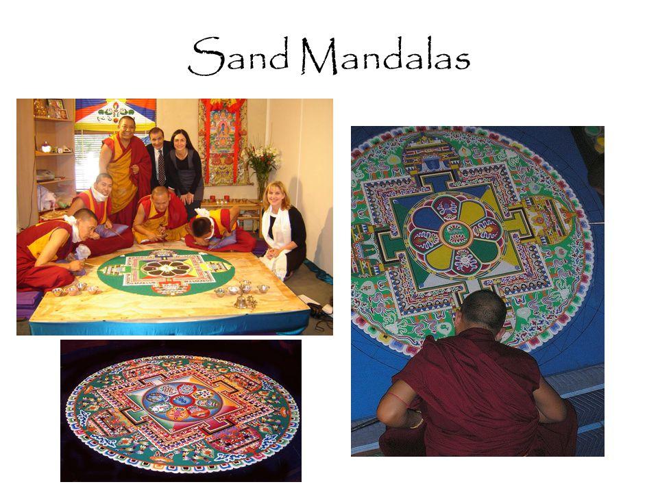 Sand Mandalas