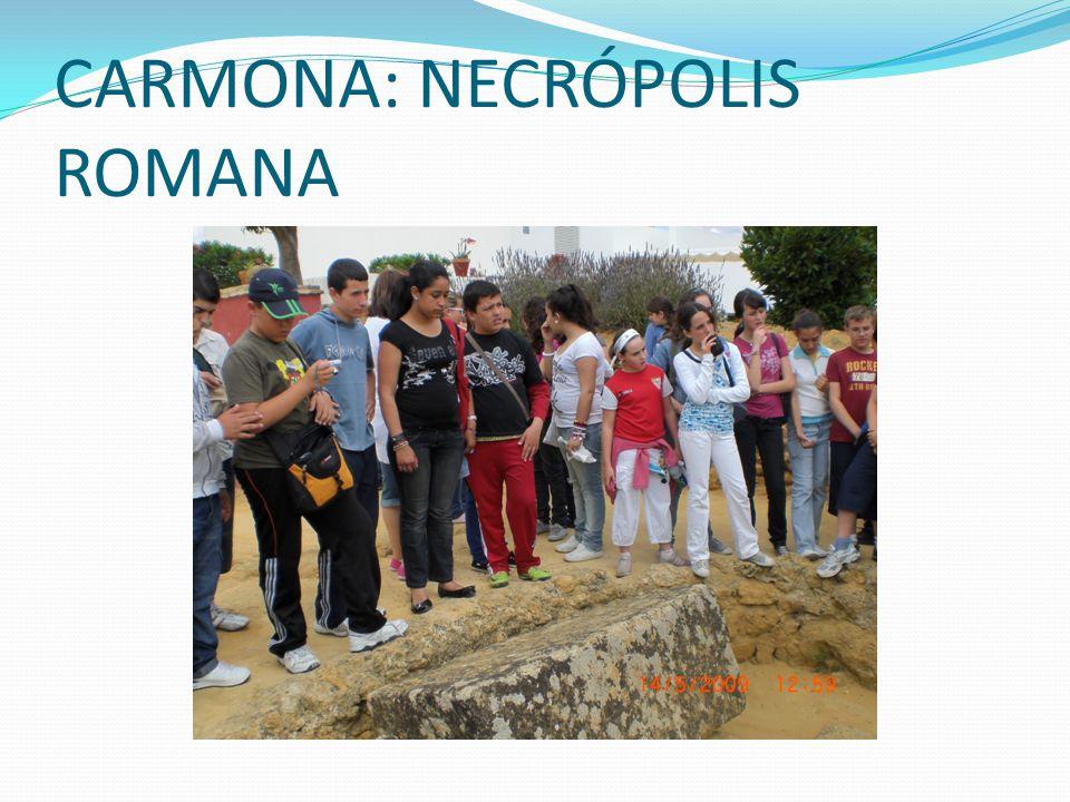 CARMONA: NECRÓPOLIS ROMANA