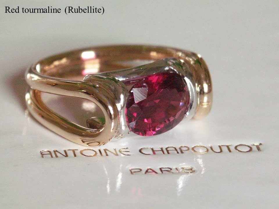 Red tourmaline (Rubellite)
