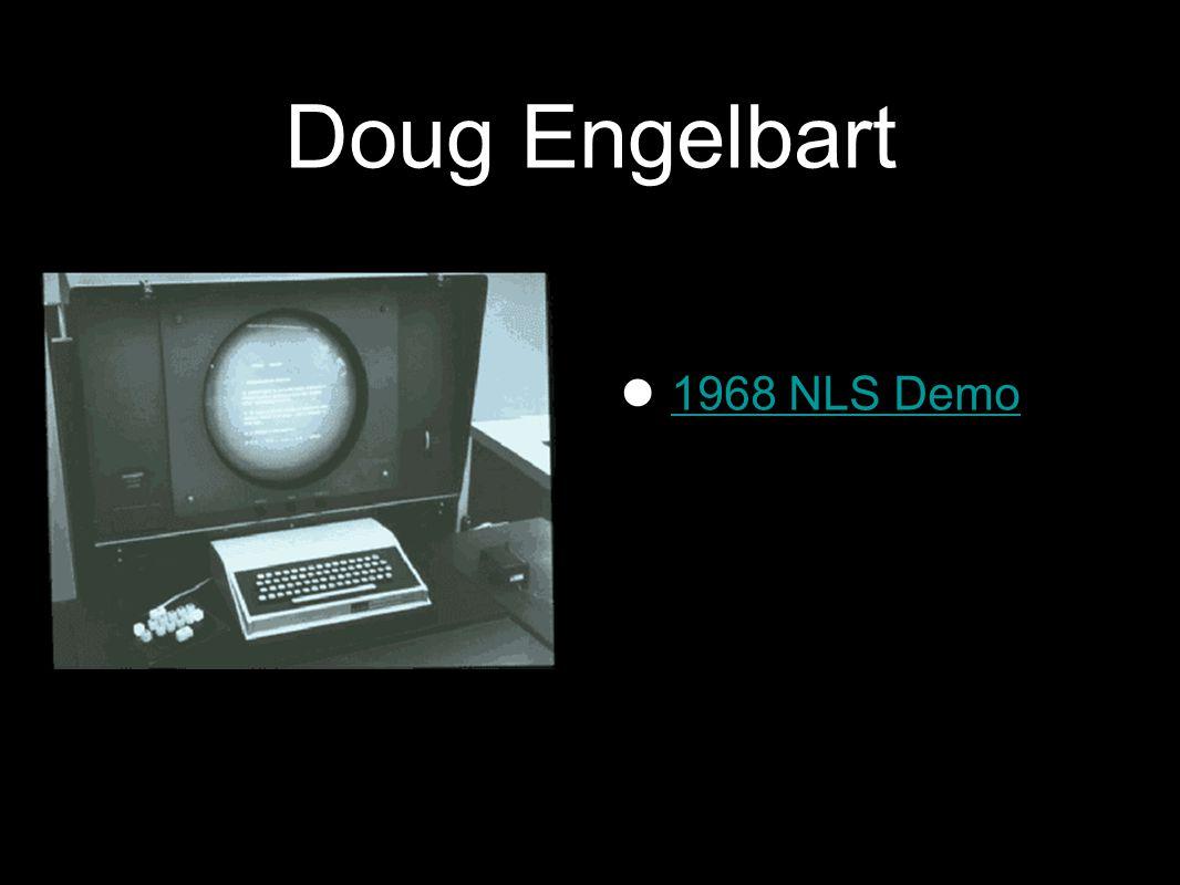 Doug Engelbart 1968 NLS Demo