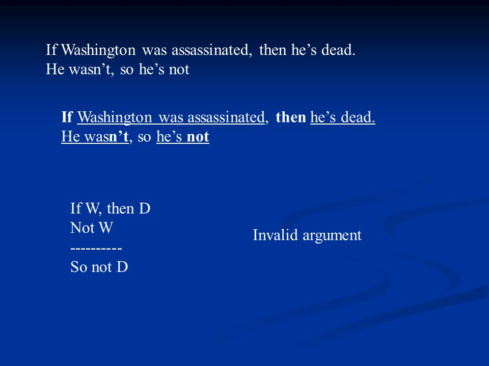 If Clinton was assassinated, then he's dead.He's not dead, so he wasn't assassinated.