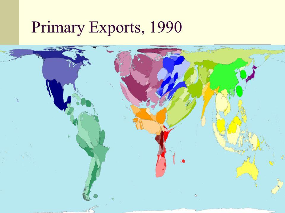 35 Primary Exports, 1990