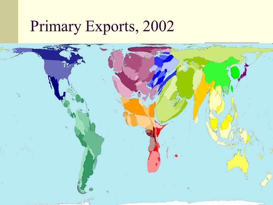 36 Primary Exports, 2002