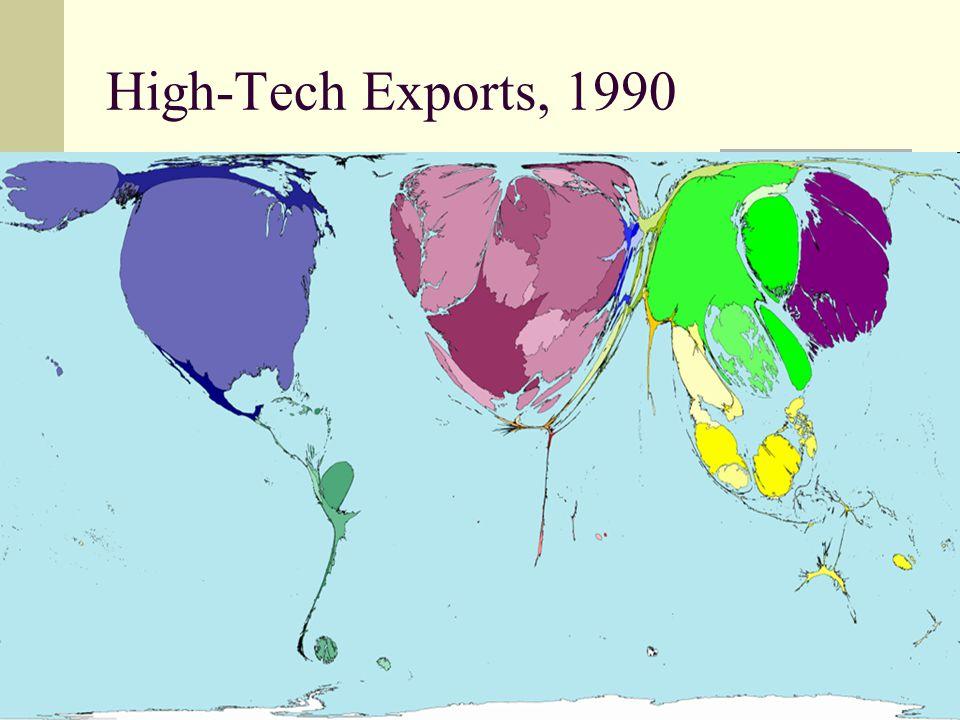39 High-Tech Exports, 1990