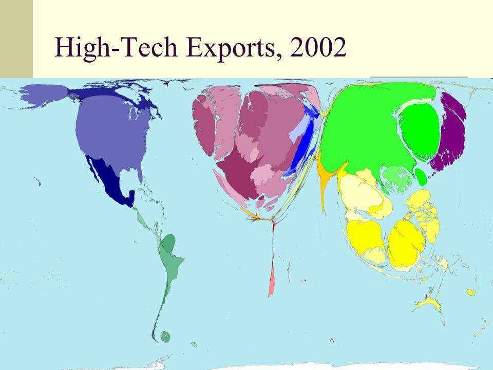 40 High-Tech Exports, 2002