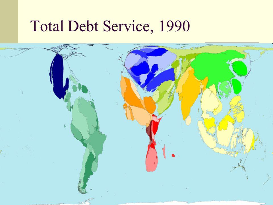 47 Total Debt Service, 1990