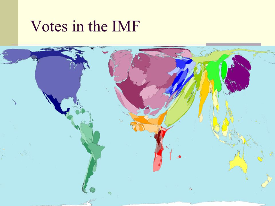 Votes in the IMF